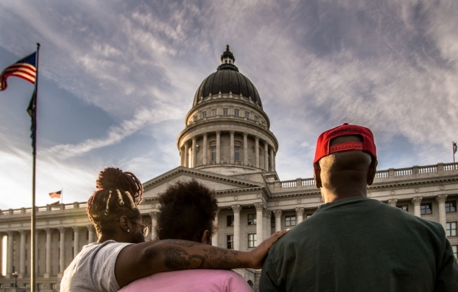 """""""Change is coming"""":  My experience with the Black Lives Matter movement"""