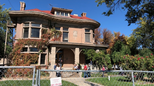 Daylighting Stroll to the Fisher Mansion