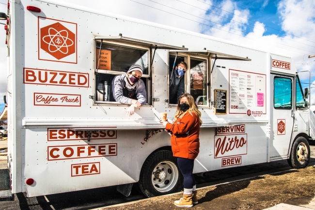 Coffee truck creates a 'buzz' in Rose Park